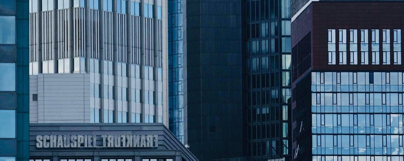 Schauspiel Frankfurt Blick Skyline